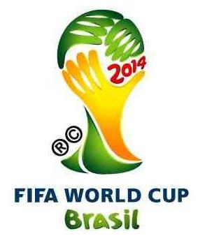logo coupe monde football 2014 brésil brazil
