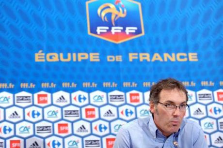 laurent blanc selectionneur equipe de france de football