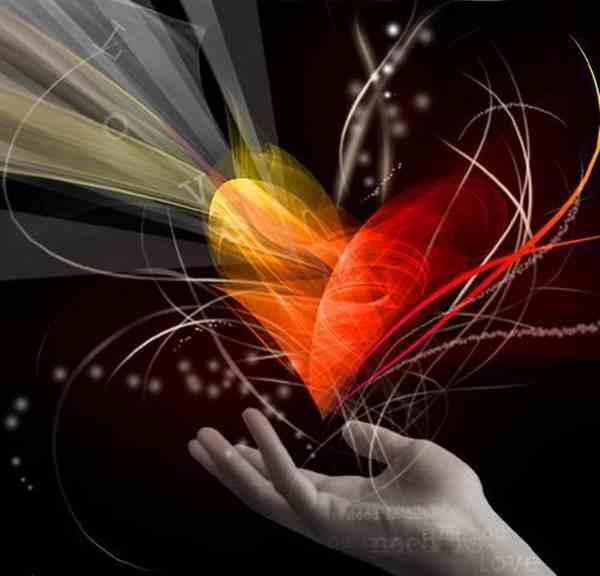 main sur le coeur generosite