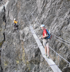 via ferrata chamrousse