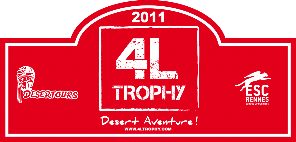 plaque 4L Trophy