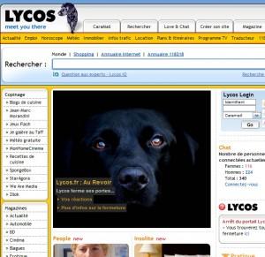 au revoir Lycos