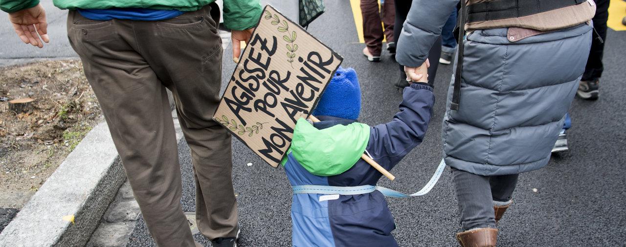 Manifestation pour un autre avenir